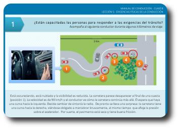 Curso e-learning conducción clase B