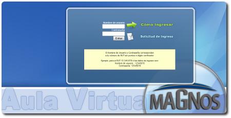 Plataforma e-Learning CFT MAGNOS
